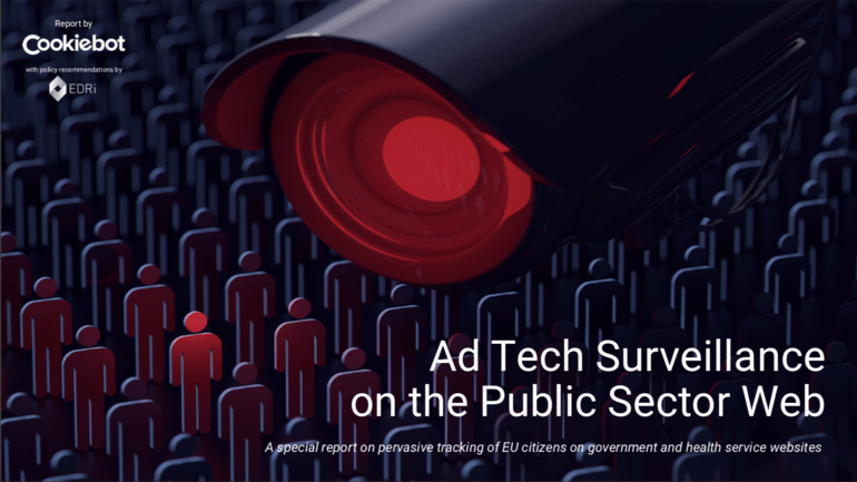 Report: Ad Tech Surveillance on the Public Sector Web